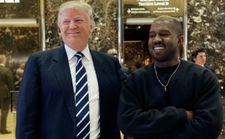 Does Trump really support Kanye West